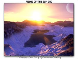 Collab-'Rising of the Sun God' by Echo-Velocity