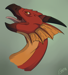 Red Dragon by OEmilyThePenguinO