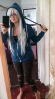 Fem Jack Frost cosplay test by Peppermint-Tea