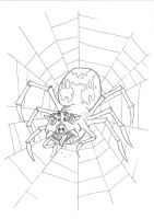Spiderpig by 010001110101