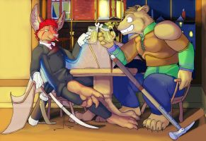 Time at the Bar by RickGriffin