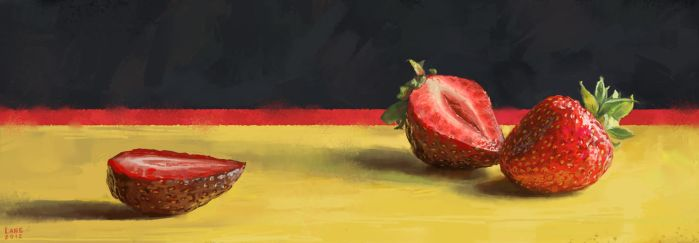 Strawberry by Wildweasel339