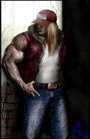 Terry Bogard by 4adams