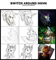 SwitchAroundMeme by HeavenlyCondemned