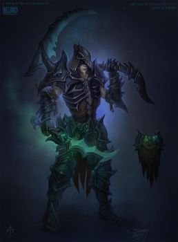 Master Necromancer concept by FirstKeeper
