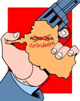 Rondonia, The Pistolandia by Latuff2