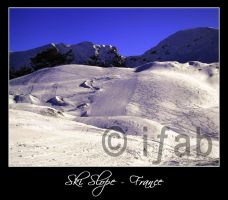 Ski Slope - France by iFab