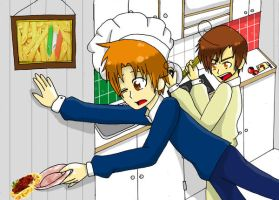 Making Pasta by APHnation-Romano