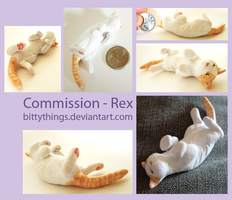 Rex 01  - COMMISSION by Bittythings