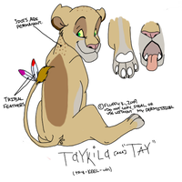 Tay - Feral Reference by SikiSpots