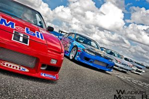 Drifters Lineup by wla91