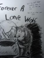 Forever A Lone Wolf by Tentailedbeast
