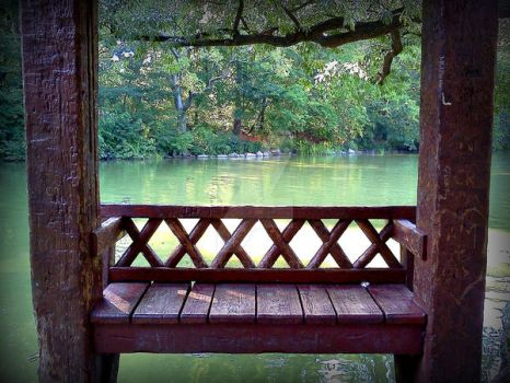Central Park Bench by dc2610