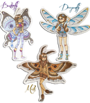 Bug Fairy Babes by F0XEH