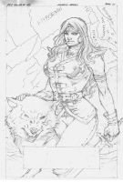 Sketch Red Sonja#72 Marcio Abreu by MARCIOABREU7
