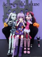 Monster High Scary Halloween by Nko-ennekappao