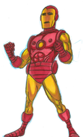 iron man color 2 by AlanSchell