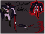 Clocktower Aatrox Sketch by WitchyStella