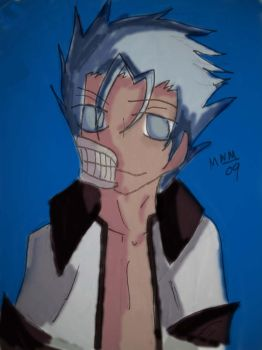 Grimmjow Jeagerjaques by Uke-of-Death