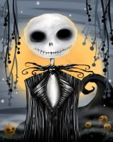 Jack Skellington Digital by sugarkoma