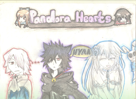 Pandora Hearts - 3 of a kind by Neko-pro