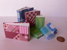 Origami : mini modular books by Coqkie