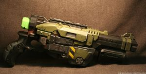 A bit more of the HALO style Praxis by JohnsonArms