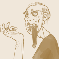 Ugly Zombeh? by assporn