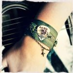 Upcycled bracelet by Andein