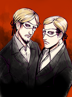 SNK Masks by MaryIL