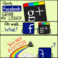 Facebook, Grab my Logo by Charleston-and-Itchy