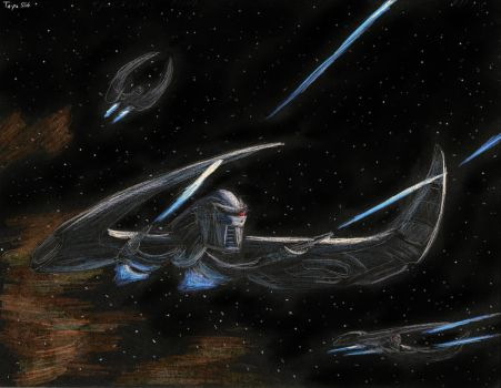 Cylon Attack by Taipu556