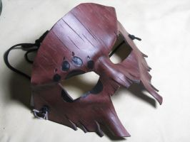 Bearhunter leather mask by wyldharrt