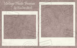 Vintage Instant Camera Photo Frames by XiuLanStock