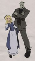 Alice and Frank by MyDyingRose