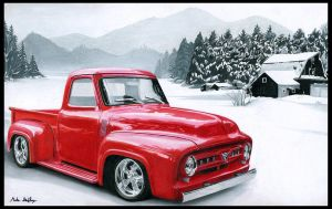 F-100 Xmas Card 2010 by theGaffney
