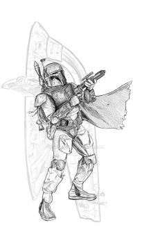 Boba Fett by jasonpal