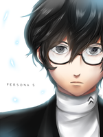 Persona 5: Dawn of a new Protagonist by HanuWabbit