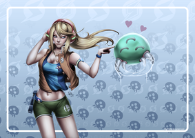 Day Off (Samus) by DigiFlohw