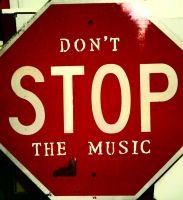 Don't Stop the Music by carriezona