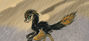 Velociraptor Sally Commission for thefan2 by Umbra-Nine