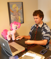 Me and Pinkie Pie by Template93