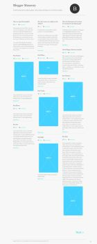 Blogger-Masonry template by dunnodt