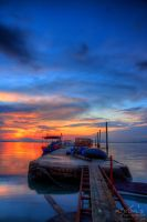 Sunrise of Dove Jetty, Penang - The dock 2 by fighteden