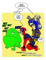 Cable and Deadpool in Toad by RoaP