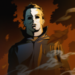 Halloween Countdown #2: Michael Myers by Mikuloctopus