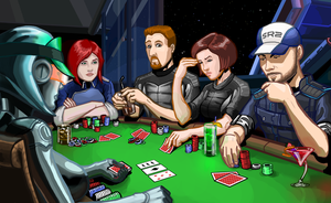 Mass Effect: Poker Time by Garrenh