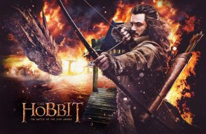 THE HOBBIT BATTLE OF THE FIVE ARMIES TEASER POSTER by Umbridge1986