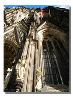 Cologne Cathedral Front Edifice by WillFactorMedia