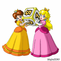 Peach and Daisy (Super Mario Series) by soteriosalles